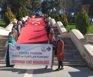 KYK öğrencileri Mehmet Akif Ersoy'u andı