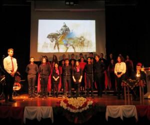 Mudanya'da İstiklal Marşının kabulünün 97. yılı kutlandı