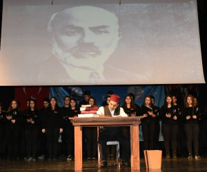 Trabzon'da İstiklal Marşı'nın Kabulü ve Mehmet Akif Ersoy'u Anma Günü etkinliği düzenlendi