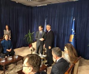 ABD Dışişleri Bakan Yardımcısı Mitchell Kosova'da