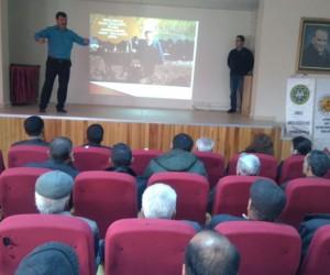 Aydın'da arıcı ve çobanlara 'Milli Tarım' semineri