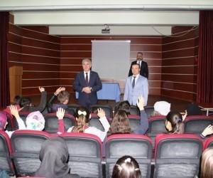 Başkan Memiş'in okul ziyaretleri sürüyor