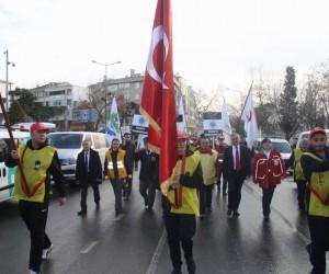 57. Alay Yürüyüş Komitesi yola çıktı