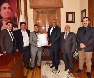 Türk-Arap Araştırma ve Strateji Enstitüsü Başkanı Bilecik'te