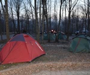 (Özel) - Sakarya UMKE ve Arama Kurtarma Dernekleri zorlu şartlarda kamp yapıyor