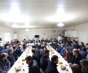 Başkan Alemdar, belediye personeli ile bir araya geldi