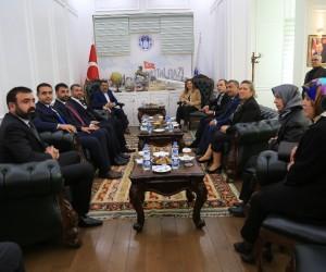 Çağdaş Gazeteciler Derneği'nden Gürkan'a ziyaret
