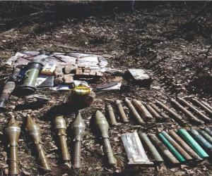 Şırnak'ta PKK'ya ait çok sayıda mühimmat ele geçirildi