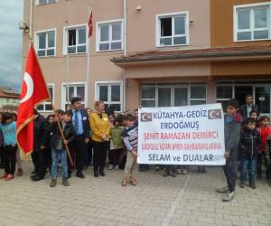 Köylülerden Mehmetçiğe destek kampanyası