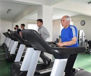 75 yaşında spor yaparak diyabet hastalığını yendi