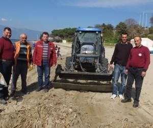 Balıkesir'de plajlar yaza hazırlanıyor