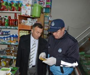 Seyitgazi Belediyesi zabıta ekiplerinden gıda ve hijyen denetimi