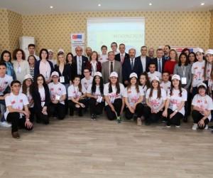 'Avrupa düzeyinde girişimciliği geliştirmek' konulu proje, Kütahya'dan başladı