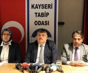 """Kayseri Tabip Odası Başkanı Prof. Dr. Hüseyin Per: """"Afrin şehitlerine hürmeten hiçbir talebimiz yok"""""""