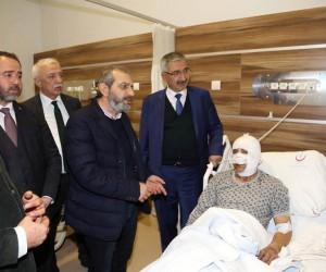 AK Partili Aslan'dan geçmiş olsun ziyareti