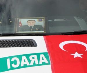 Dicle şehidinin cenazesi Amasya'ya getirildi
