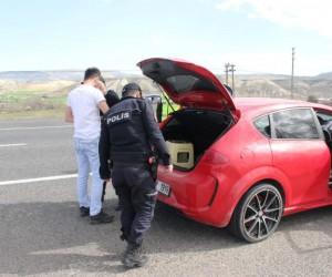 Avanos'ta 10 araca 5 bin 388 lira para cezası kesildi