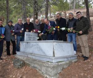 ÇGC Kurucu Başkanı Yurtçu, mezarı başında anıldı
