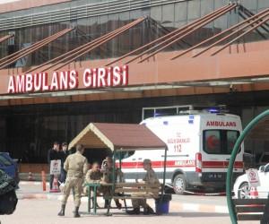 EYP patlaması sonucu yaralanan 10 ÖSO askeri Kilis'e getirildi