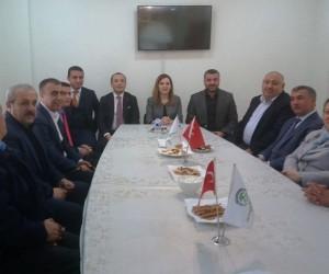 MHP'den Yeşiltepeliler Derneğine ziyaret