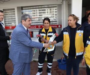 Başkan Uysal 14 Mart'ta sağlık çalışanlarını unutmadı