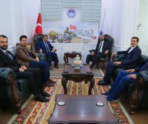 Başkan Gürkan ASKON'u ağırladı