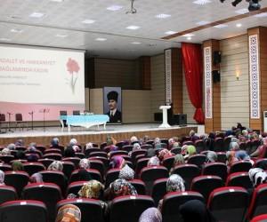"""""""Adalet ve Hakkaniyet Bağlamında Kadın"""" konulu konferans"""
