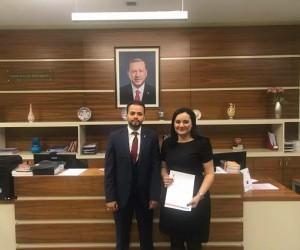 AK parti Eefeler'de Kadın Kolları Başkanı Karadağ oldu