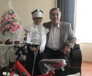 Başkan Çetin sünnet ziyaretlerine devam ediyor