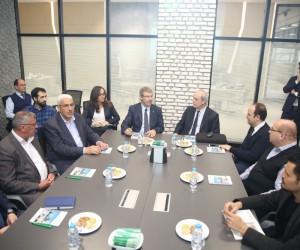 AGÜ Öğretim Üyeleri Kayseri Şeker Fabrikası'nın Ar-Ge Merkezini İnceledi