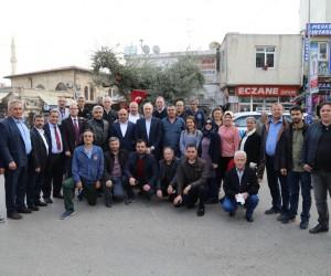 Başkan Fatih Çalışkan, Mehmetçik ve Kilisliler'e destek gezisine katıldı