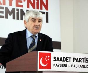 Saadet Partisi Genel İdare Kurulu Üyesi Duran Soyuğur: