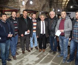 Niğde'de Belediye Başkanı Özkan Esnaf Buluşmalarına devam ediyor