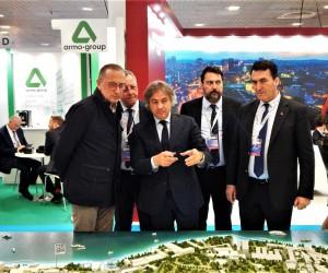 Osmangazi'nin dev projeleri MIPIM Fuarı'nda