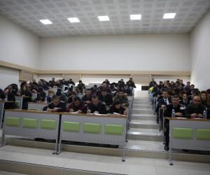 ARÜ'de sürekli işçi kadrolarına geçiş sınavı yapıldı