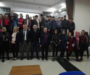 Daday'da öğrencilere madde bağımlılığı anlatıldı