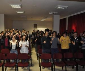 Gaziantep'te Sınav Motivasyonu ve Doğru Tercih konulu söyleşi
