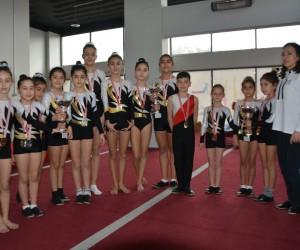 Sökeli cimnastikçiler Bolu'ya gidiyor