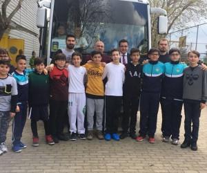 Başak Koleji'nin şampiyonları Ege Bölgesi birinciliği için Uşak'ta