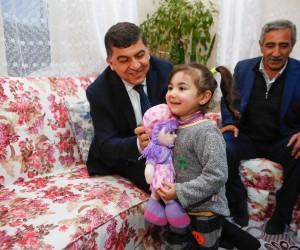 Başkan Fadıloğlu'nun Çat Kapı Ziyaretleri Mutlu Ediyor