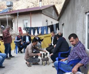 Başkan Erdoğan devam eden çalışmaları inceledi