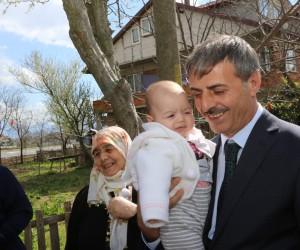 Başkan Alemdar'dan teşekkür ziyareti