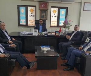 Çözüm Der Başkanı Ezgin'den Erkan Gezer'e ziyaret