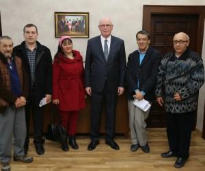 Eskişehir Bedensel Engelliler Derneği Başkan Kurt'u ziyaret etti