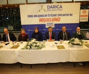 Başkan Karabacak, sağlık çalışanları ile bir araya geldi