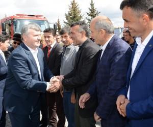 """Başkan Akyürek: """"Türkiye'deki gelişimi görmek için Konya'ya gelecekseniz"""""""