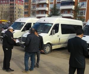 Fatsa'da polis okul servis araçlarını denetledi