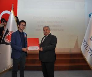 49. Lise Öğrencileri Araştırma Projeleri Konya Bölge Yarışması ödülleri sahiplerini buldu
