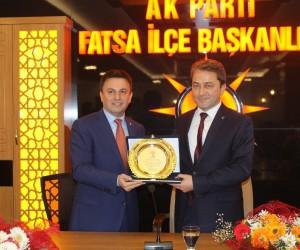 Fatsa AK Parti'de devir teslim töreni
