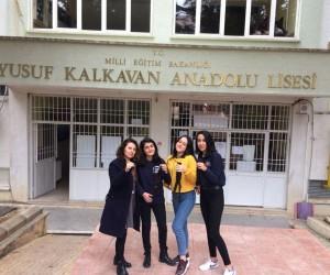 Yusuf Kalkavan Anadolu Lisesi öğrencilerinden kanser hastalarına destek